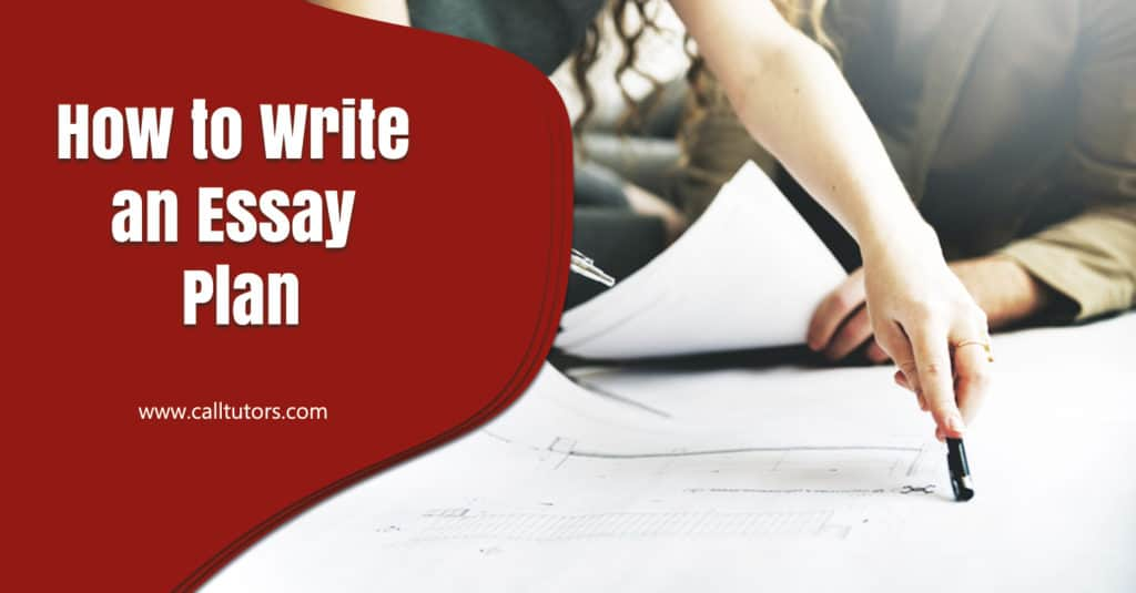 How to write an Essay plan?