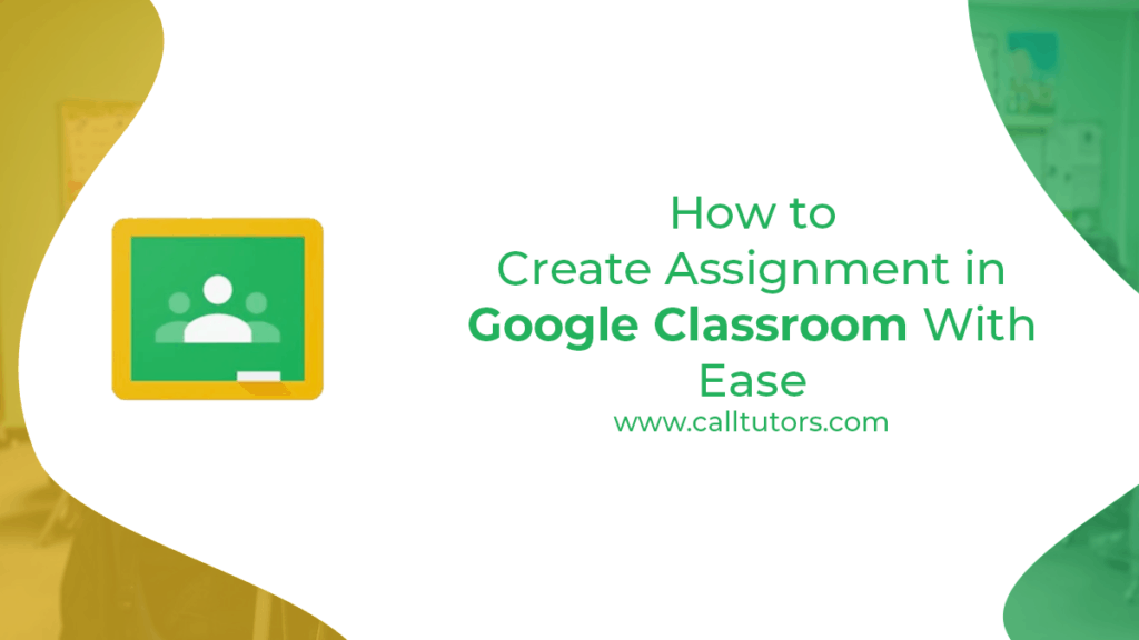 How to create assignment in google classroom