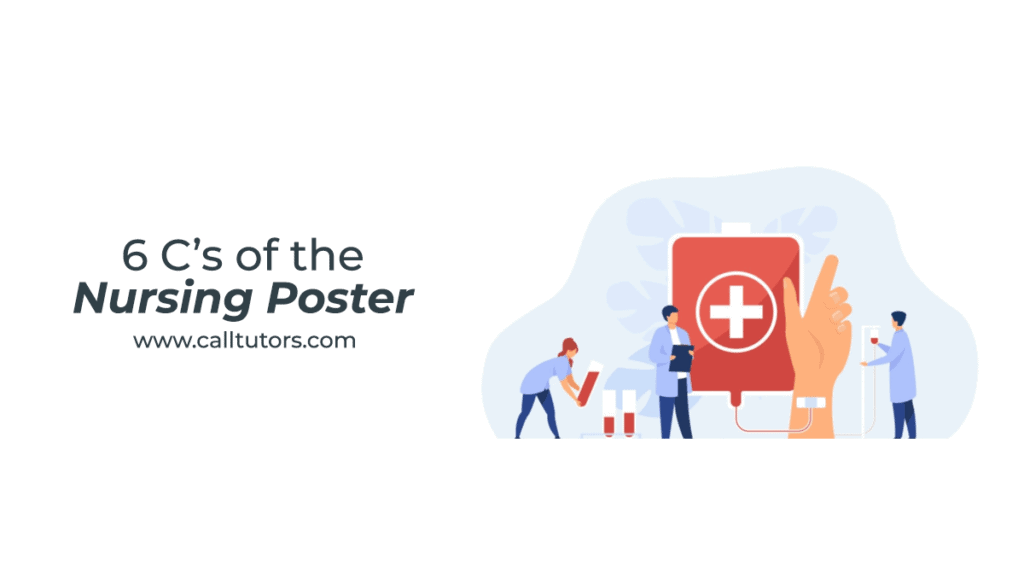 What are the 6 C's of the nursing poster?