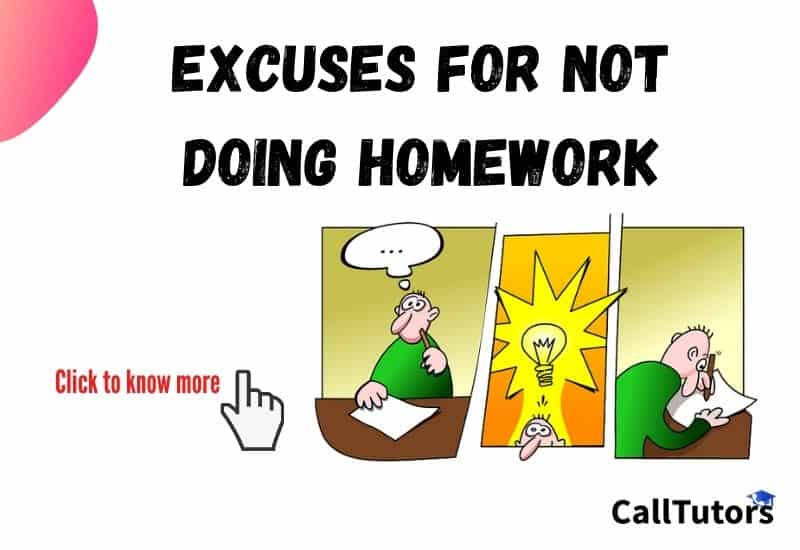 Excuses For Not Doing Homework