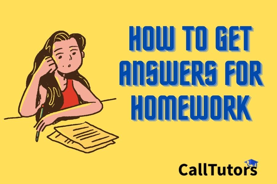 How to Get Answers for Homework