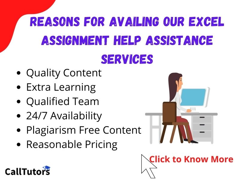 Reasons For Availing Our Excel Assignment Help Assistance Services