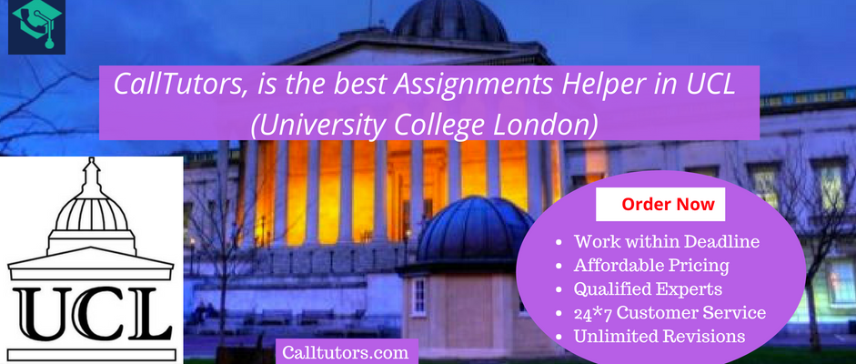 Assignment Help for University College of London