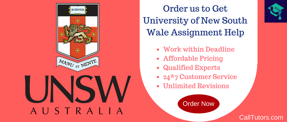 Assignment Help For University Of New South Wales